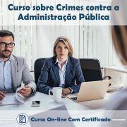 Curso Online de Crimes Contra a Administração Pública com Certificado