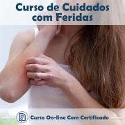 Curso Online de Cuidados com Feridas com Certificado