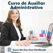 Curso Online de Curso de Auxiliar Administrativo com Certificado
