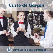 Curso Online de Garçom com Certificado