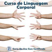 Curso Online de Linguagem Corporal com Certificado