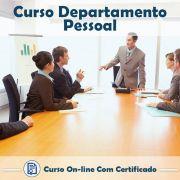 Curso Online de Departamento Pessoal com Certificado