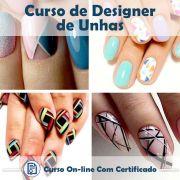 Curso Online de Designer de Unhas com Certificado