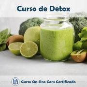 Curso Online de Detox com Certificado