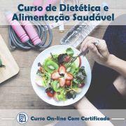 Curso Online de Dietética e Alimentação Saudável com Certificado