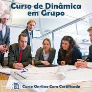 Curso Online de Dinâmicas em Grupo com Certificado