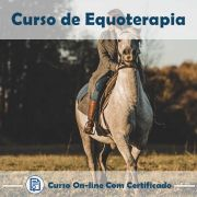 Curso Online de Equoterapia com Certificado