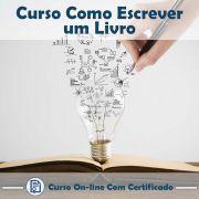 Curso Online Como Escrever um Livro com Certificado