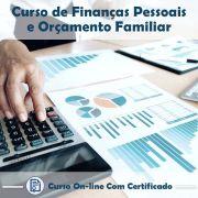 Curso Online de Finanças Pessoais e Orçamento Familiar com Certificado