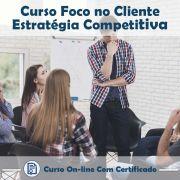 Curso Online de Foco no Cliente – Estratégia Competitiva com Certificado