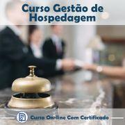 Curso Online de Gestão de Hospedagem com Certificado