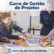 Curso Online de Gestão de Projetos com Certificado