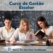 Curso Online de Gestão Escolar com Certificado