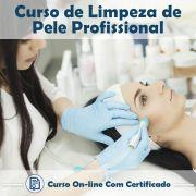Curso Online de Limpeza de Pele Profissional com Certificado