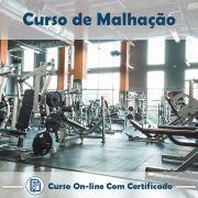Curso Online de Musculação com Certificado