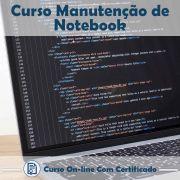 Curso Online de Manutenção de Notebook com Certificado
