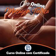 Curso online de Massagem Tântrica com Certificado + Videoaulas