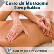 Curso Online de Massagem Terapêutica com Certificado