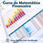 Curso Online de Matemática Financeira com Certificado
