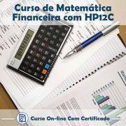Curso Online de Matemática Financeira com HP 12C com Certificado