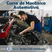 Curso Online de Mecânica de Carros com Certificado