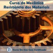 Curso Online de Mecânica: Resistência dos Materiais com Certificado