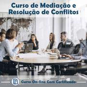 Curso Online de Mediação e Resolução de Conflitos com Certificado