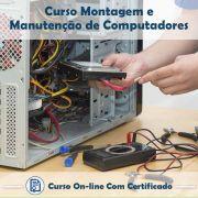 Curso Online de Montagem e Manutenção de Computadores com Certificado