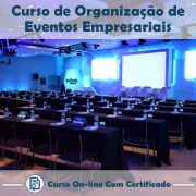 Curso Online de Organização de Eventos Empresariais com Certificado