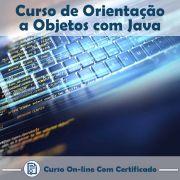 Curso Online de Orientação a Objetos com Java com Certificado