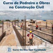 Curso Online de Pedreiro e Obras de Construção Civil com Certificado