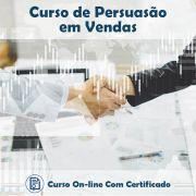 Curso Online de Persuasão em Vendas com Certificado