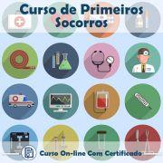 Curso online de Primeiros Socorros + Certificado