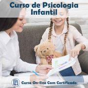 Curso online de Psicologia Infantil + Certificado