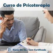 Curso online de Psicoterapia + Certificado