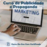 Curso online de Publicidade e Propaganda + Certificado