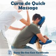 Curso Online de Quick Massagem com Certificado