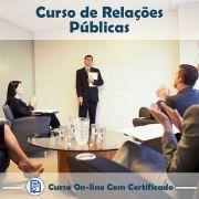 Curso Online de Relações Públicas com Certificado
