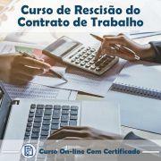 Curso Online de Rescisão do Contrato de Trabalho com Certificado