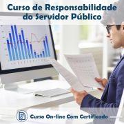 Curso Online de Responsabilidades do Servidor Público com Certificado