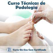 Curso Online de Técnicas de Podologia com Certificado