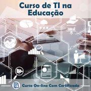 Curso Online de TI na Educação com Certificado