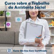 Curso Online Sobre o Trabalho do Assistente Social com Certificado