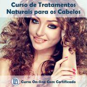 Curso Online de Tratamentos Naturais para os Cabelos com Certificado