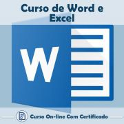 Curso Online de Word e Excel com Certificado
