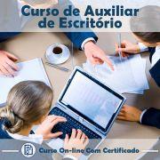 Curso online em videoaula de Auxiliar de Escritório na Prática com certificado