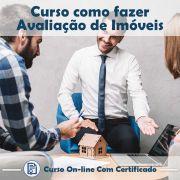 Curso online em videoaula de como fazer Avaliação de Imóveis com Certificado