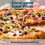 Curso online em videoaula de como fazer Pizza com Certificado