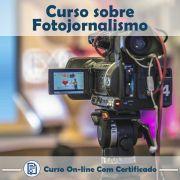 Curso online em videoaula de como funciona Fotojornalismo com Certificado