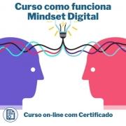 Curso Online em videoaula de como funciona Mindset Digital com Certificado